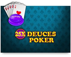 iSoftBet 25x Deuces Poker