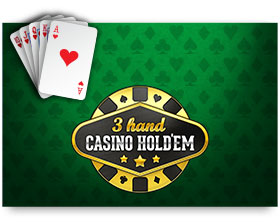 Play'n GO 3-Hand Casino Hold'em