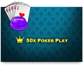 iSoftBet 50x Poker Play