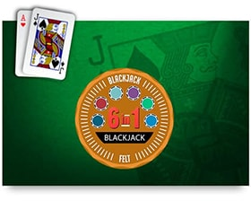 Felt 6 In 1 Blackjack