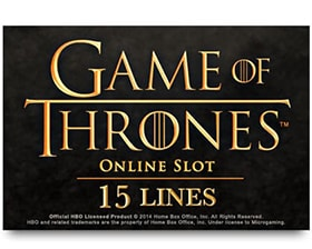 Microgaming Game of Thrones - 15 Lines