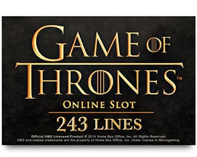 Microgaming Game of Thrones - 243 Ways