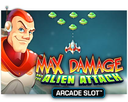 Microgaming Max Damage and The Alien Attack