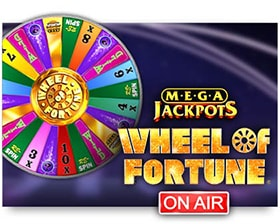 IGT MegaJackpots Wheel of Fortune On Air
