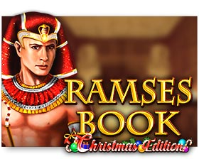 Gamomat Ramses Book Christmas Edition
