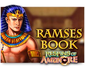 Gamomat Ramses Book Respins of Amun Re