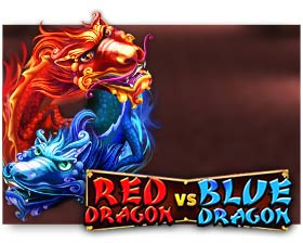 Red Rake Gaming Red Dragon VS Blue Dragon