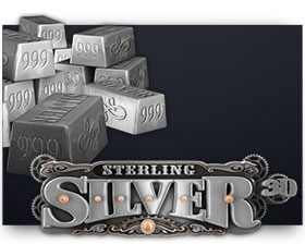 Rabcat Sterling Silver 3D