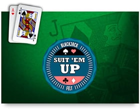 Felt Suit'em Up Blackjack