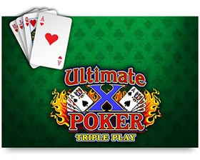 IGT UltimateX Triple Play Poker