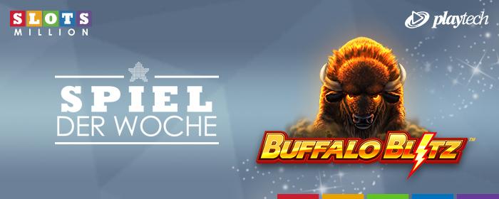 Unser Spiel der Woche: Buffalo Blitz!
