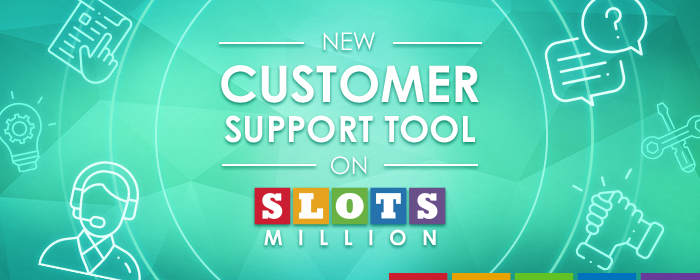 New Support tool and updates on SlotsMillion