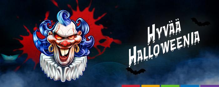 Hyvää halloweenia!