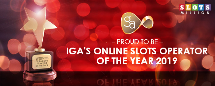 We are IGA's Online Slots Operator of the Year!