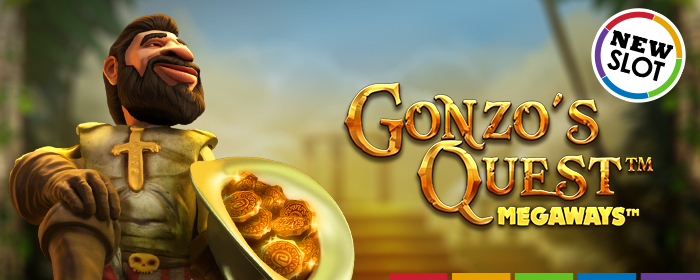 Gonzo's Quest Megaways has arrived