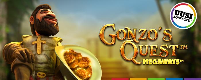 Gonzo's Quest Megaways on täällä