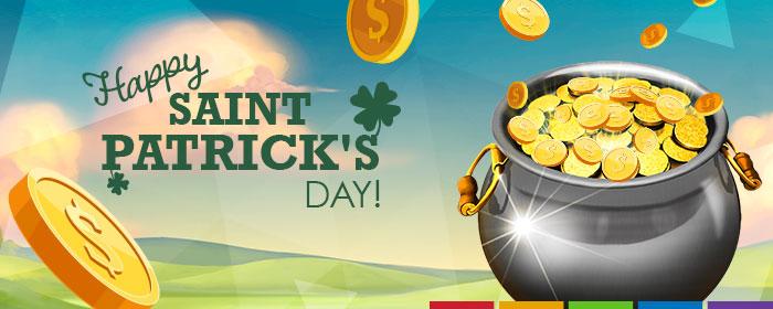 Wir wünschen einen fröhlichen St Patrick's Day!