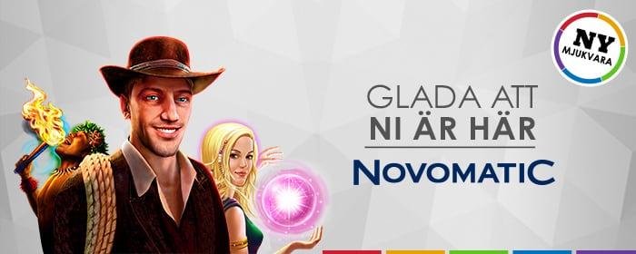 Novomatic är här!