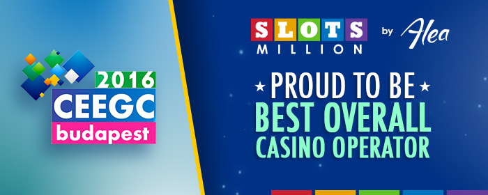 We're the Best Overall Casino Operator!