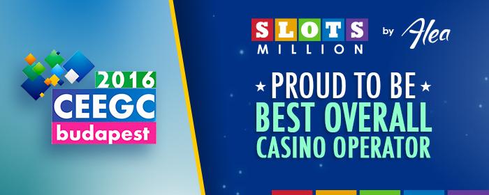 We're the Best Overall Casino Operator!